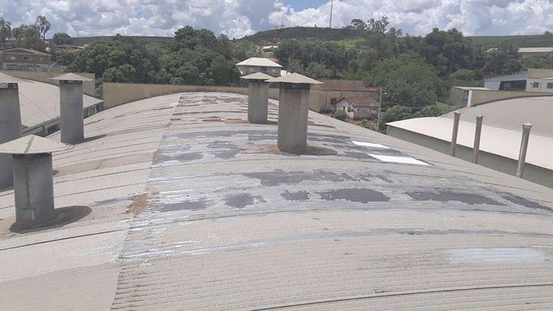 Restauração de telhados industrial