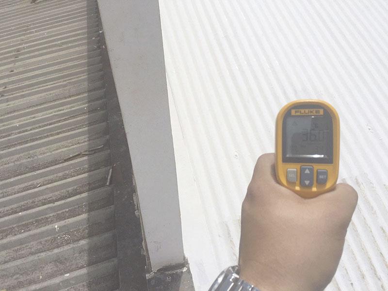 Tinta térmica para telhado