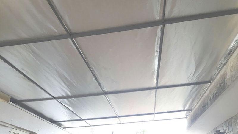 Fábrica de manta térmica para telhado